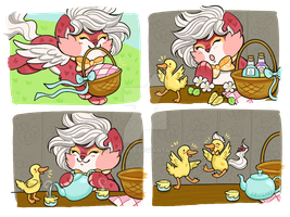 Alchemist Quest - Ducks a Plenty by Kris-Goat
