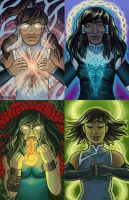 The Legend of Korra - The Four Seasons by AngelicRoyalty