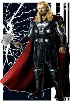 Thor Movie by Thuddleston