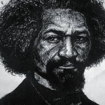 Frederick Douglass by woodrawspictures