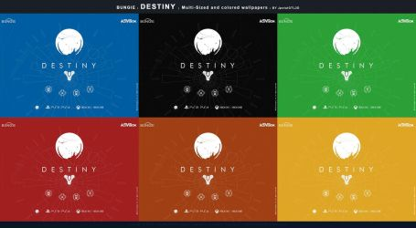 Release: Flat Wallpaper Destiny Bungie v.I by JpotatoTL2D