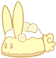 Banana Cream Pie Bunbon by Kiwicide