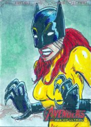 Avengers Sketch Card 2014  65 by FWACATA