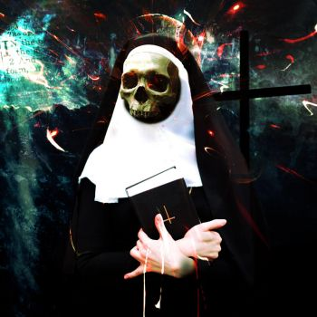 Evil Nun by sinninginheaven