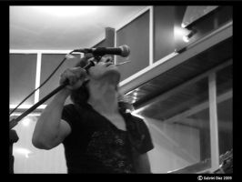 tobacco and microphone by PulsoEC