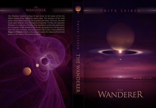 THE WANDERER book cover by Karezoid