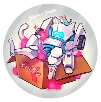 tailgate cat! by maon0210