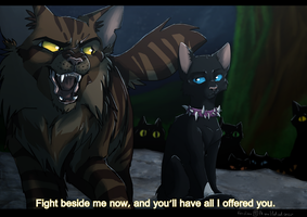 Warrior Cats: All I offered you by K0rdi4n