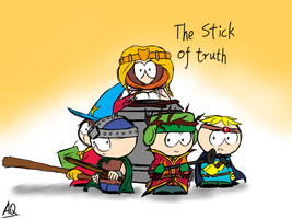The stick of Truth by aq1746950