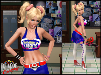 The Sims 3: Juliet Starling by Tx-Slade-xT