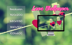 Love Wallpaper by Raiiy