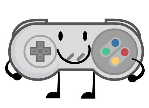Commission : SNES Controller by WhiteImator