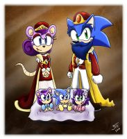 Royal Family Portrait by SonicFF