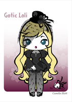 C-PaperDoll: Gotic Loli by C4mi