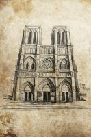 Notre-Dame de Paris by LittleTelli