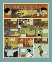 Charlie Chaplin in The Circus by drawlequin