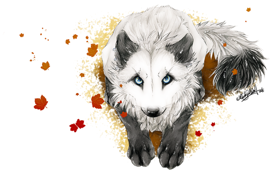White's Autumn by WhiteSpiritWolf