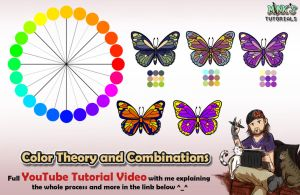 Color Theory and Combos - Mink's Tutorials (YT) by Minks-Art