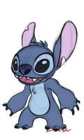 Stitch doodle 1 by rongs1234