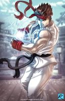 Ryu - SFV by digitalninja