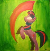 Twilight Sparkle Painting by FiddleArts