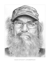 Si Robertson of Duck Dynasty by gregchapin
