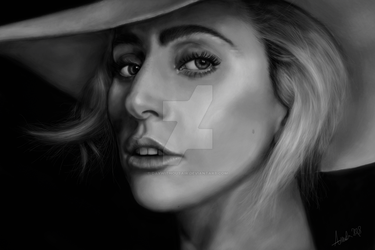 Lady Gaga by Daywithoutair