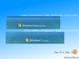 Make Vista logon text to win 7 by jeremyddual