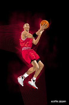 scottie pippen by Golzad