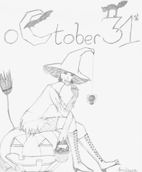 Octobre 31st by Ann0nyme
