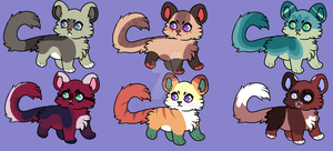 Adoptables [NYP] by ma-lone