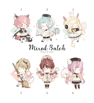 Mixed Batch Auction! [closed] by sr1023