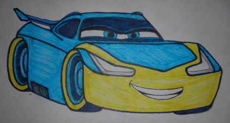 Billie Storm(My Cars OC) by sgtjack2016