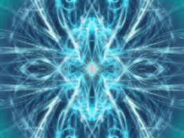 Blue Fractal Light by traseedarkwatch