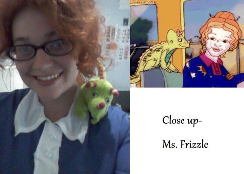 Close up Ms Frizzle by MoralInsanityCosplay