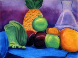 Pastel Still Life by TheSpazOutLoud
