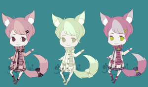 Offer to adopt 3 [CLOSED] by Dehybi-Adopts