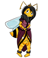 Queen Bee of Anxity by AskTheQueen