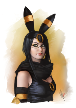 Umbreon by WarrenLouw