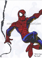 spiderman pic by Nintendrawer