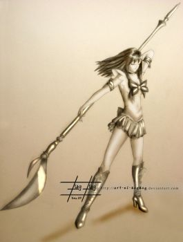 Bishojo Senshi Sailor Saturn by Art-of-ZugZug