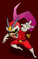 Red: Viewtiful Joe by EnterPraiz