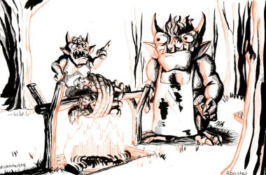 Daily Sketch: Roasted by Hunchy