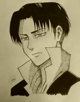 Heichou no regrets Ink by geriwiri