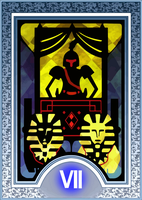 Persona Tarot Card HD - The Chariot by The-Stein