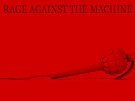 RAGE AGAINST THE MACHINE by Bails