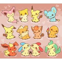 Sooooo cute :3 I'm a fire darkness type trainer~ by StarZCandy03