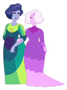 Peacock and Orchid Diamond by Idoartz