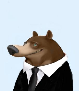Office Bear by carny87