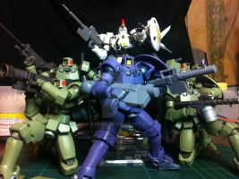 1/144 scale Leo space type from Gundam Wing by BazSg